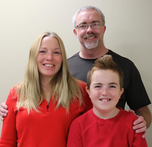 Arlington Beach camp's new director, Chad Vankoughnett and family